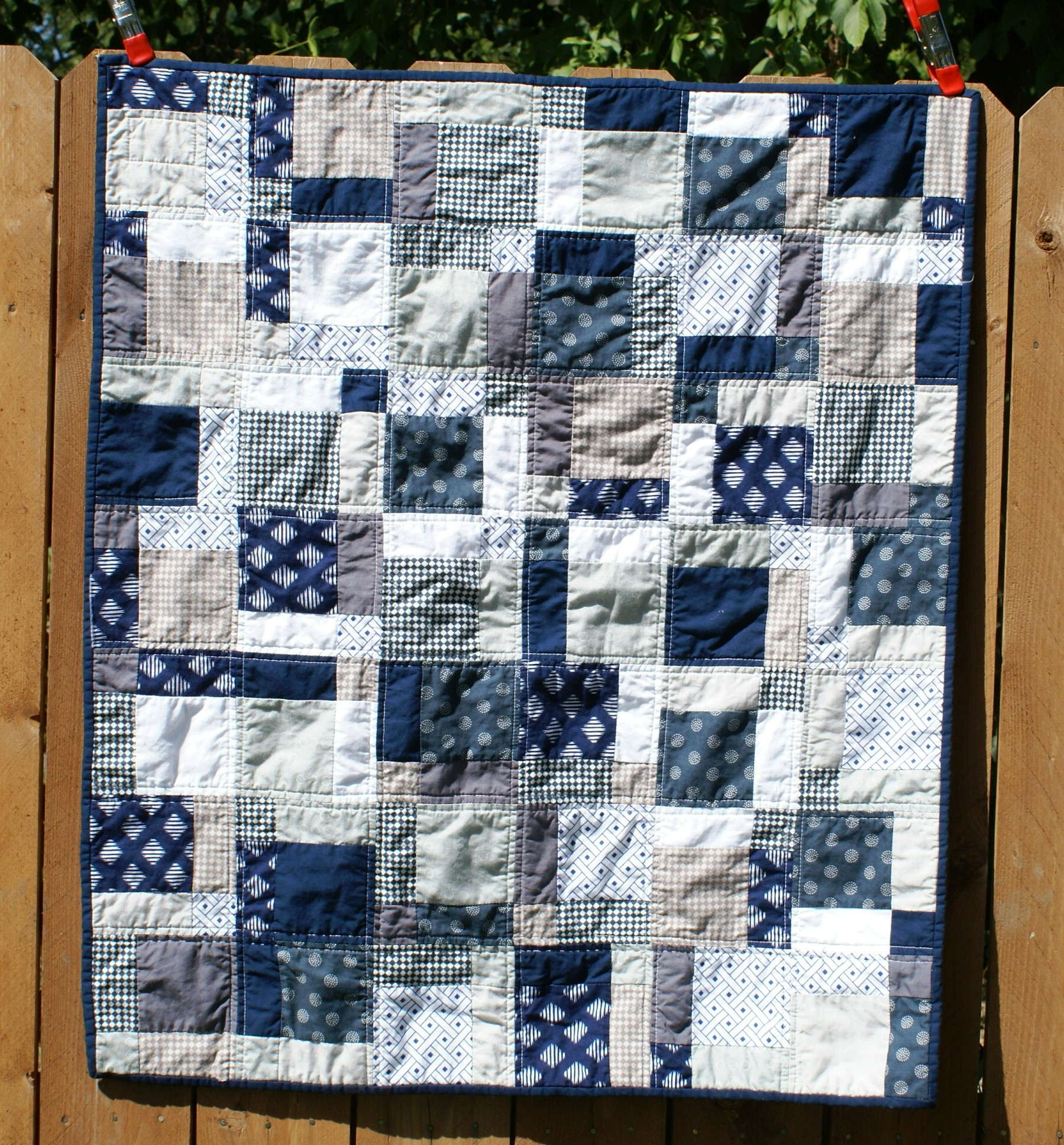Easy Quilt Patterns For Guys : Boy s Quilt Quiltytherapy