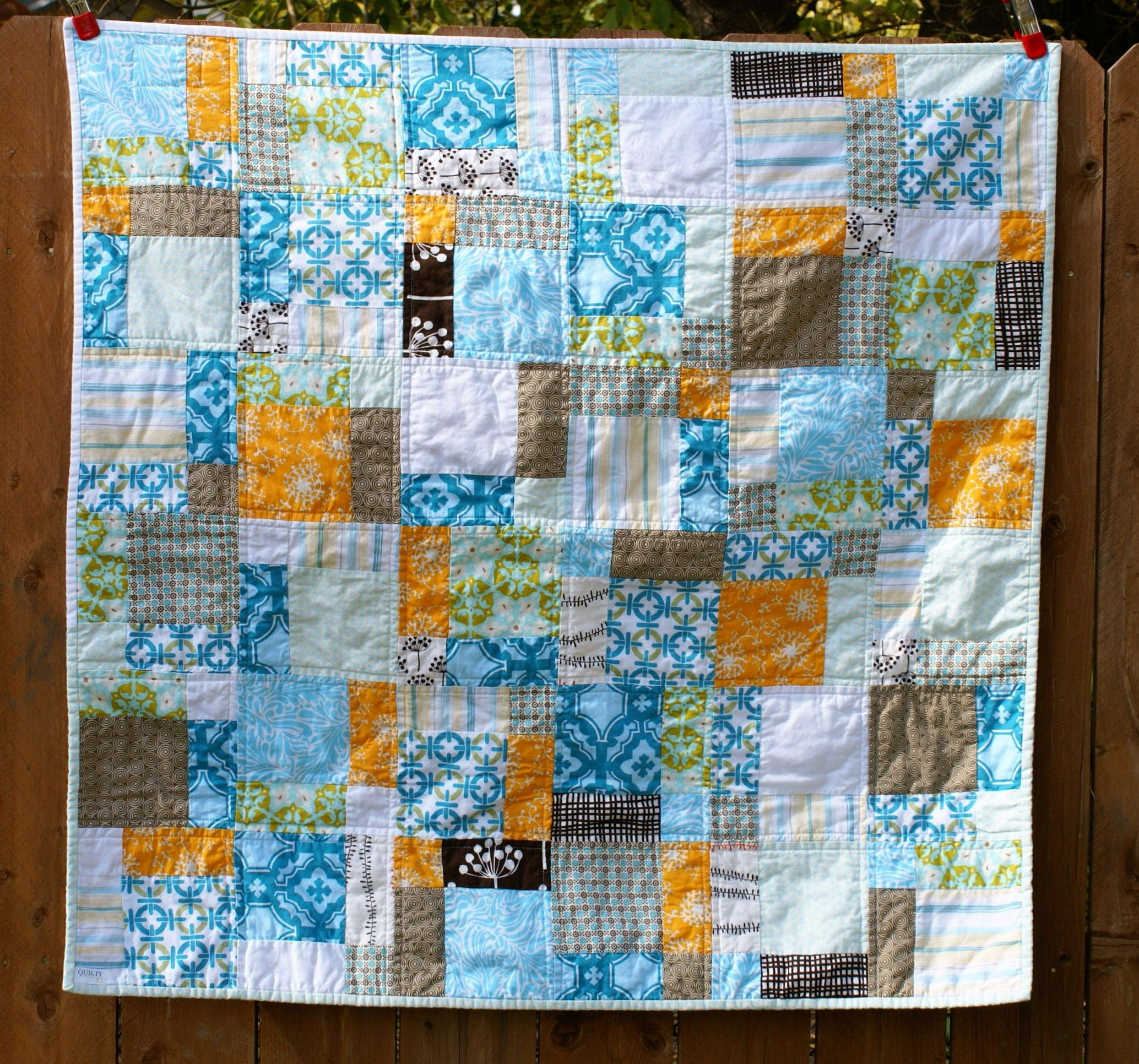 Baby Quilt Patterns For Boy : Boy Quilt Quiltytherapy