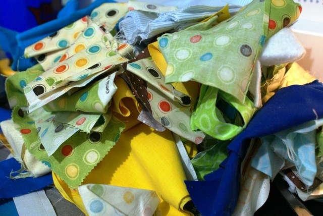 Sampling of the scraps
