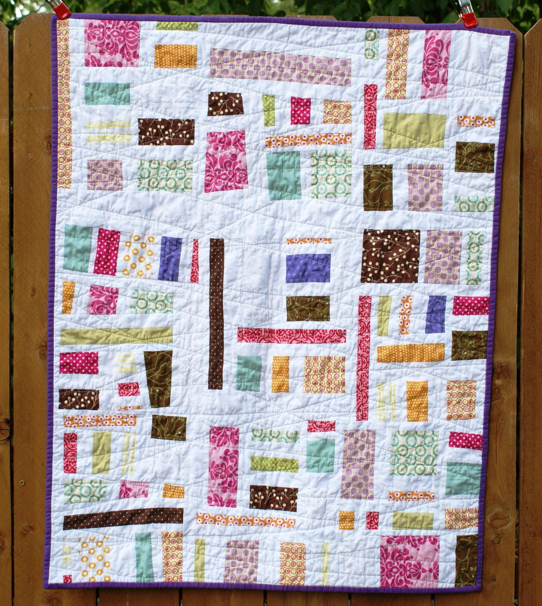 Baby Girl Mod Mosaic Quilt Baby Boy Quilt Patterns For Beginners