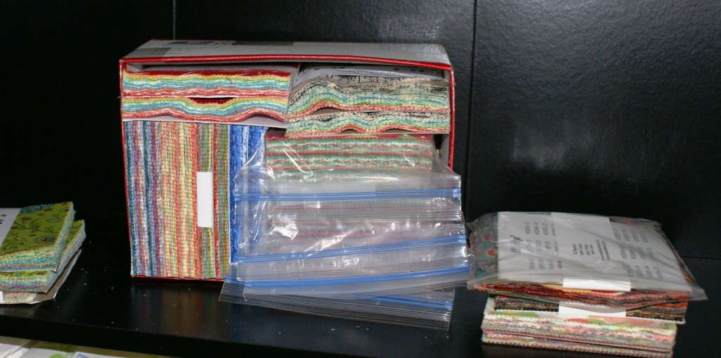 Many charm packs