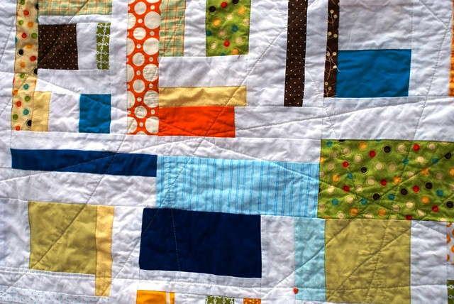 boy mod mosaic quilt
