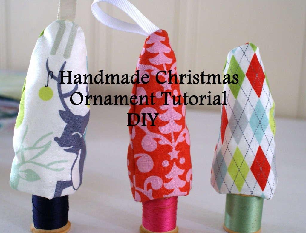 handmade christmas ornament tutorial