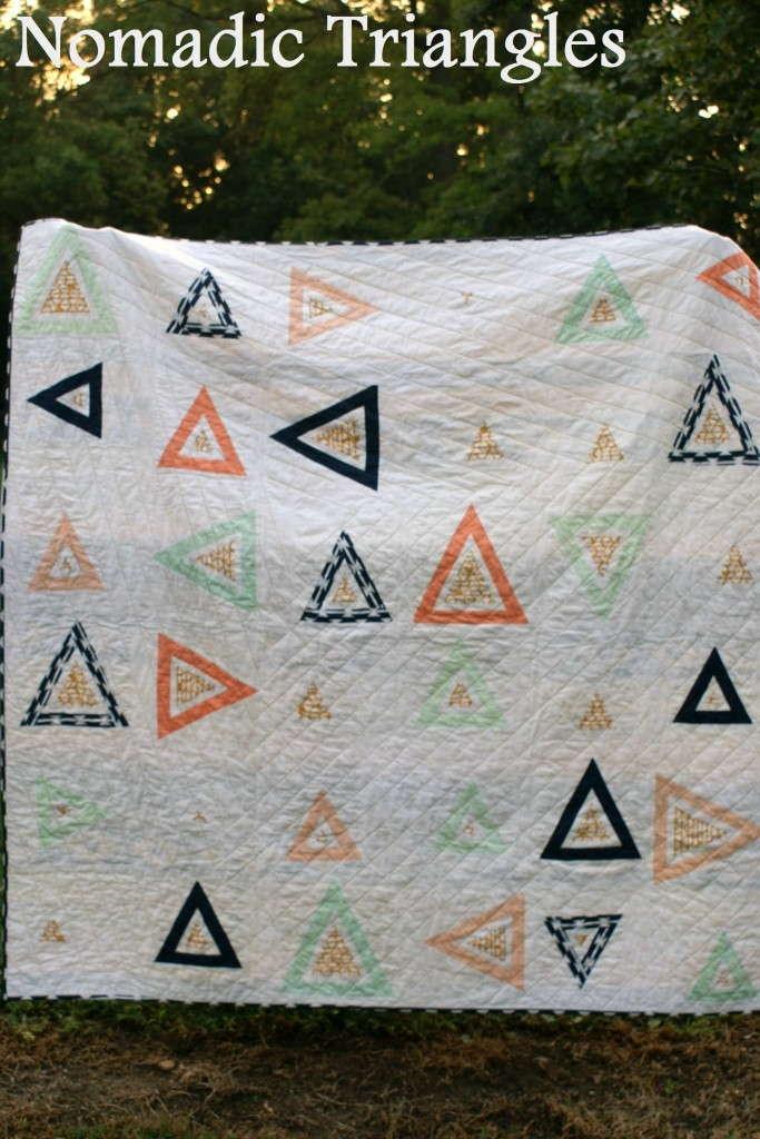 nomadic triangles quilt