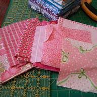pink scraps