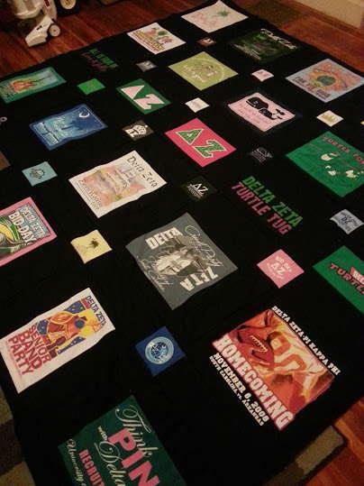 rebeccas tshirt quilt 1
