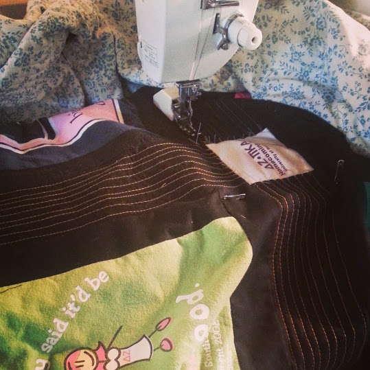 rebeccas tshirt quilt