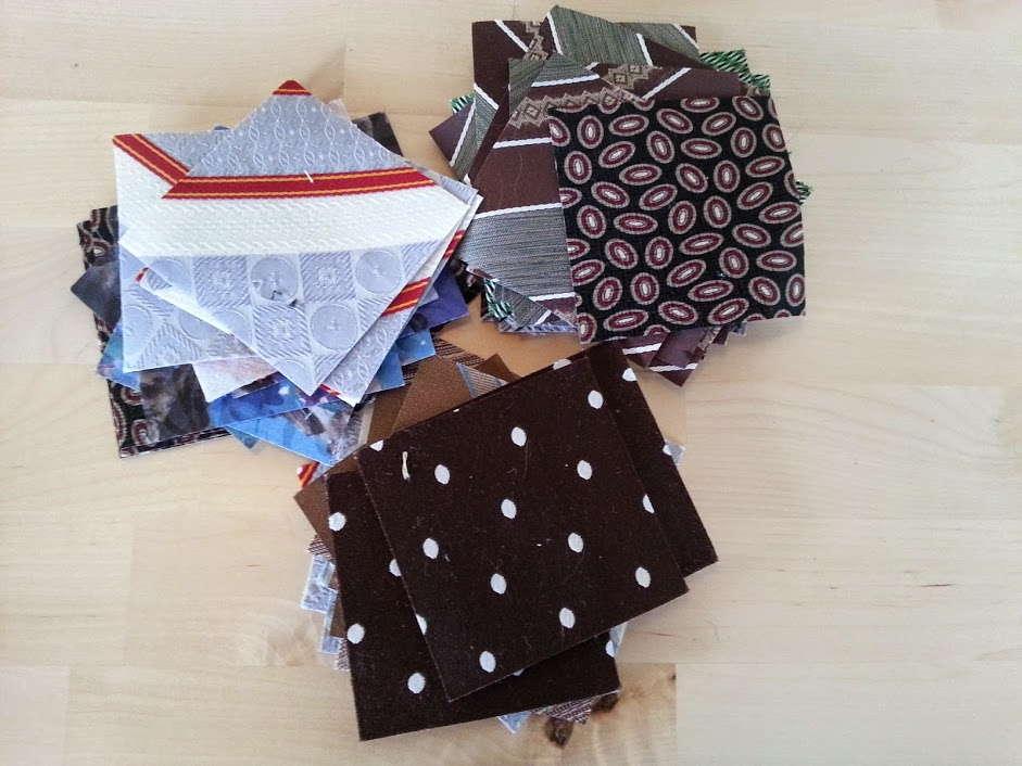 tie pillow squares