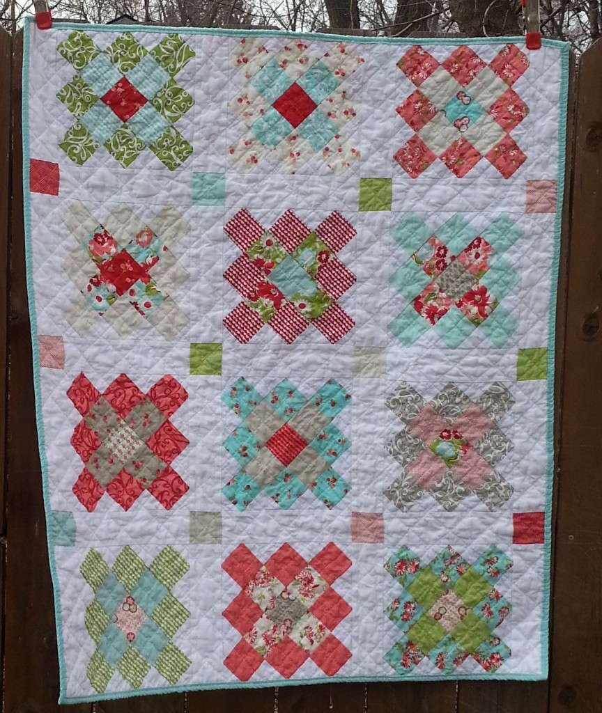 March goal done i m adoring this granny squares quilt using ruby