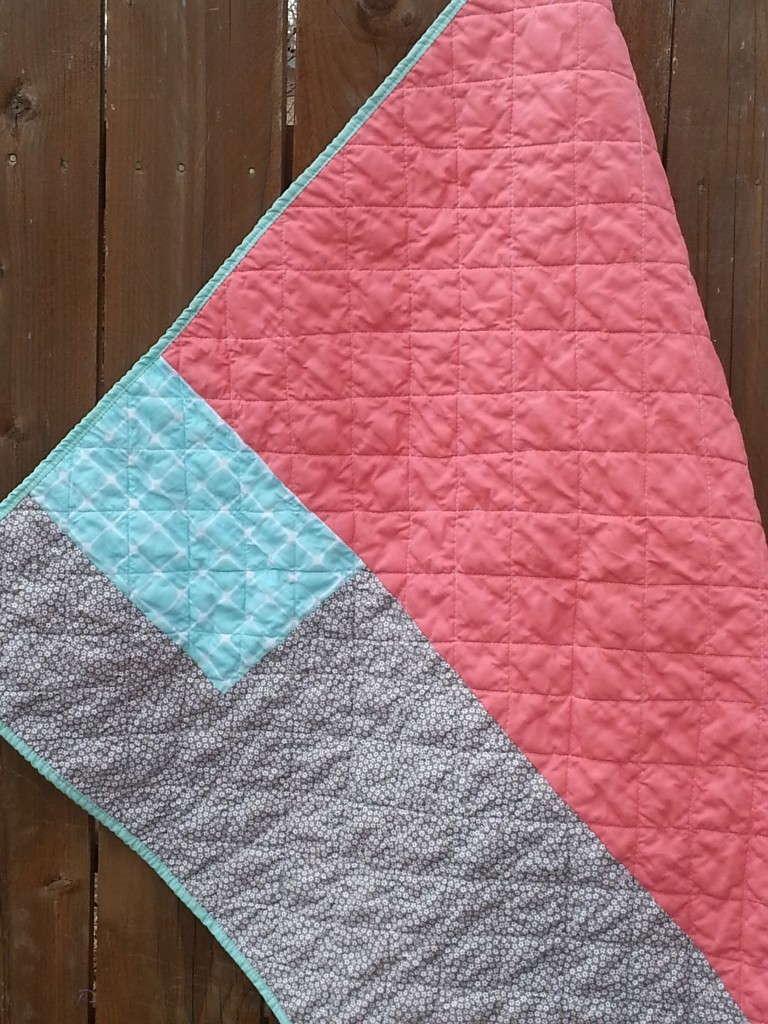 ruby granny squares quilt