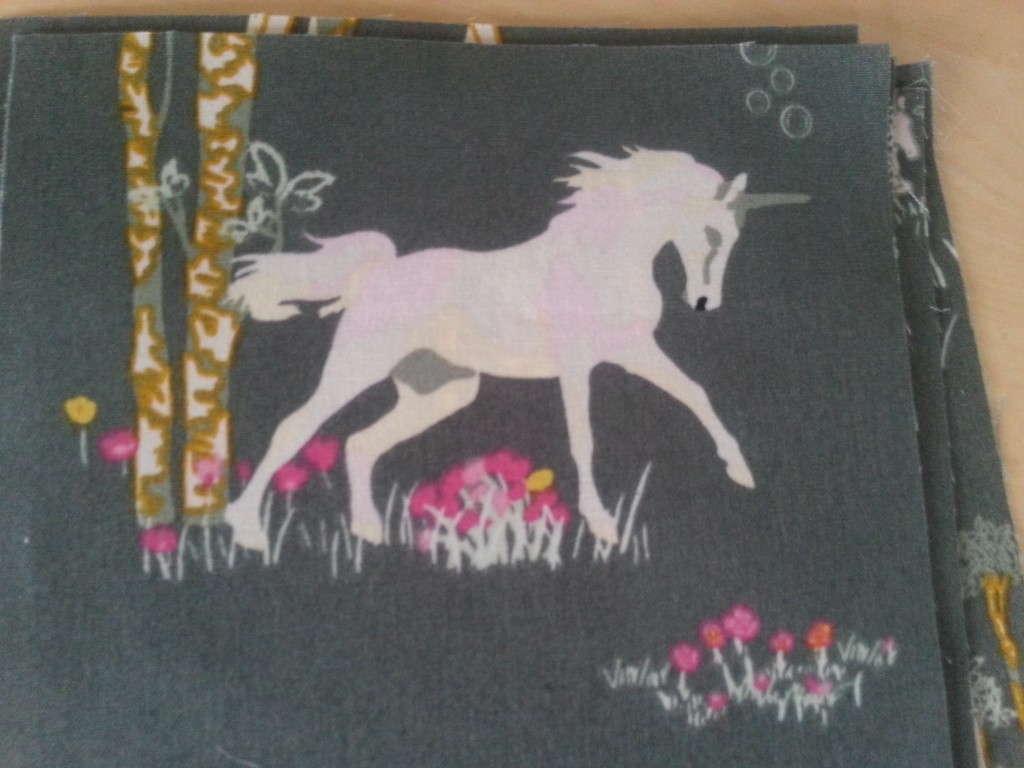 fantasia unicorn fabric