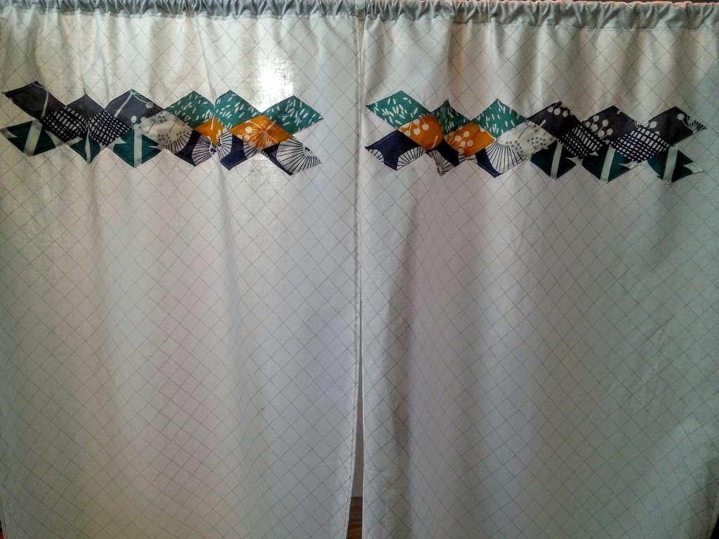 EPP Diamond Border Curtains