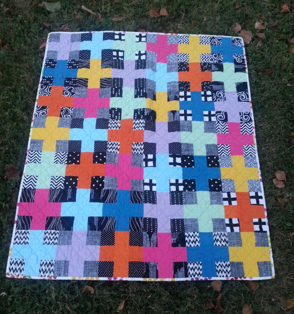 Charming Plus Girl Quilt