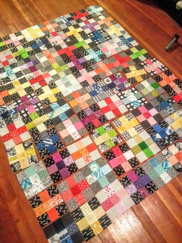 charming plus scrappy quilt (2)
