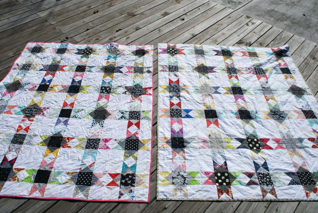 scrappy ohio stars quilts