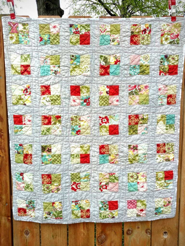 hello luscious baby quilt