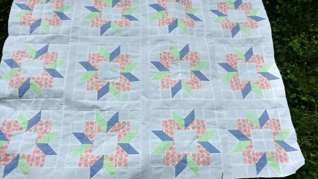 corderlia's garden quilt top