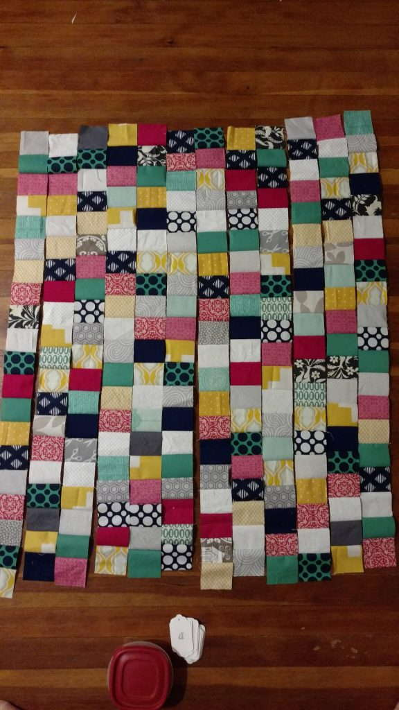 bridesmaid dress baby quilt (2)