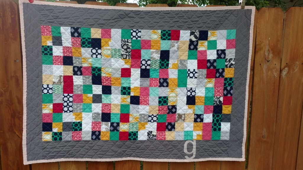 bridesmaid dress baby quilt (3)