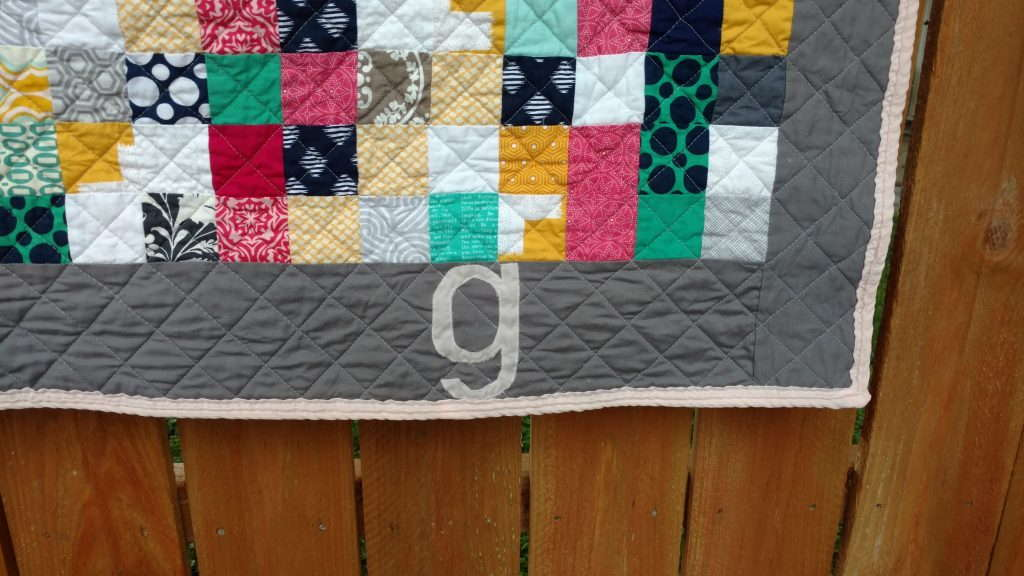bridesmaid dress baby quilt (4)