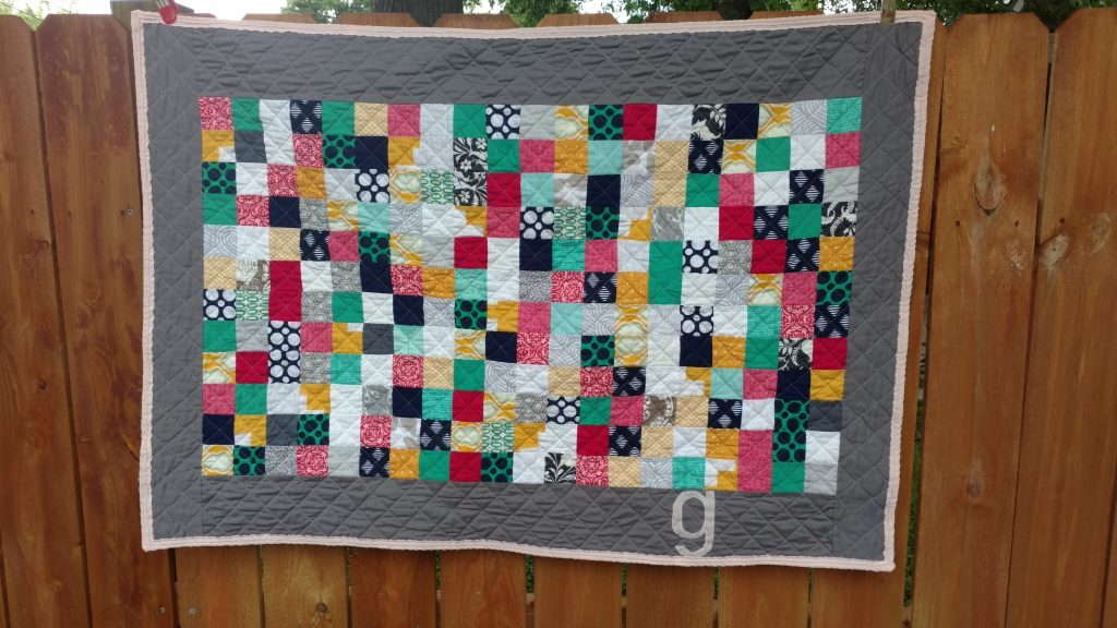bridesmaid dress baby quilt (6)