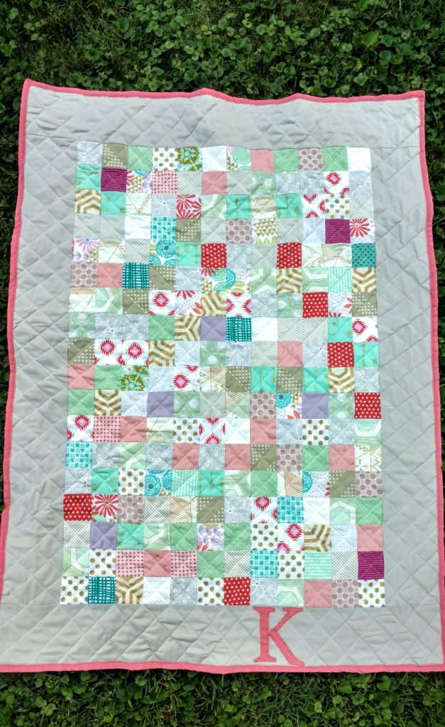 baby girl bridesmaids dress quilt (6)
