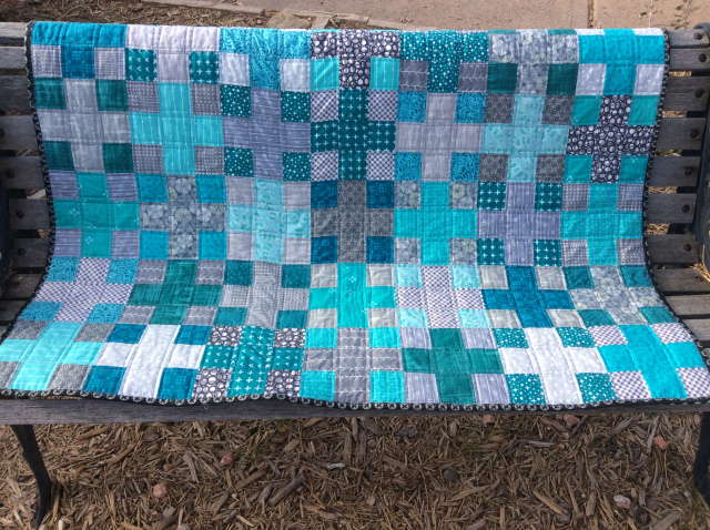 Mary with Quilting Is In My Blood