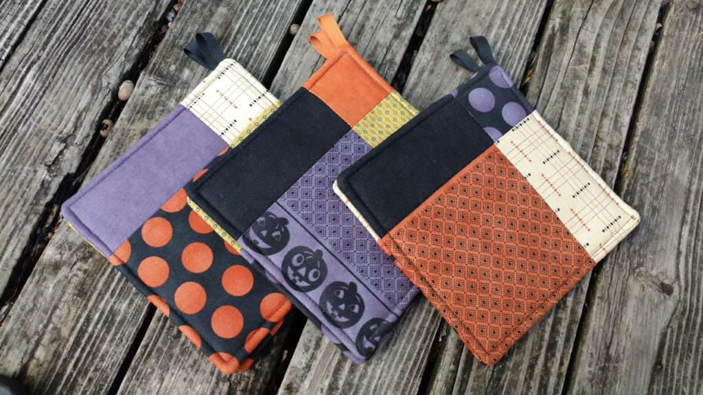potholders by quiltytherapy