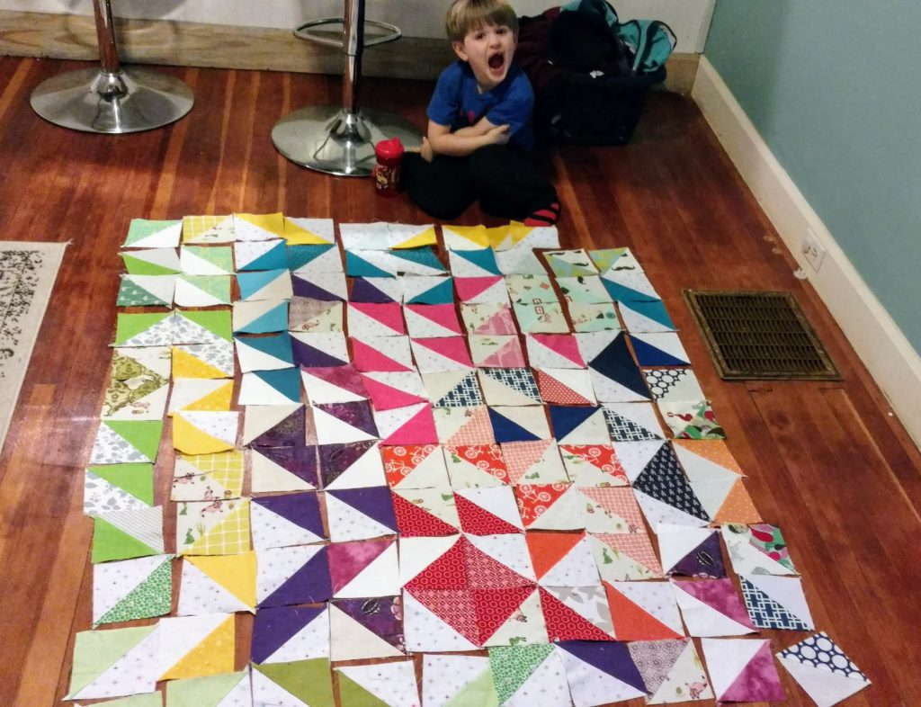 sewing with kids, let kids create, sewing assistant, kids who quilt