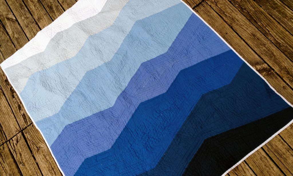 Range Quilt - Swiss Mountains