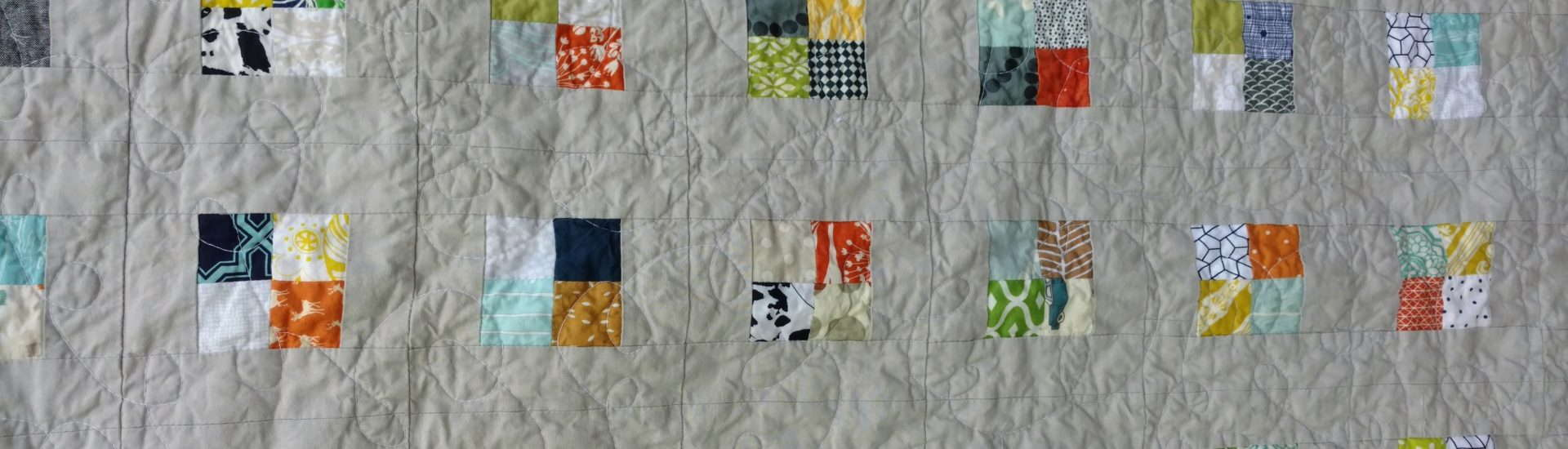 postage stamp checkerboard quilt, scrap quilt, quiltytherapy