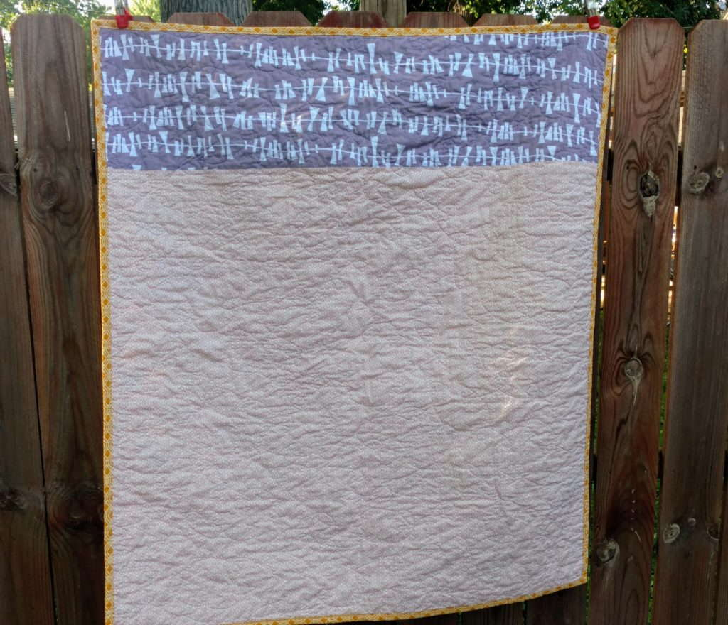 pieced quilt back, quiltytherapy