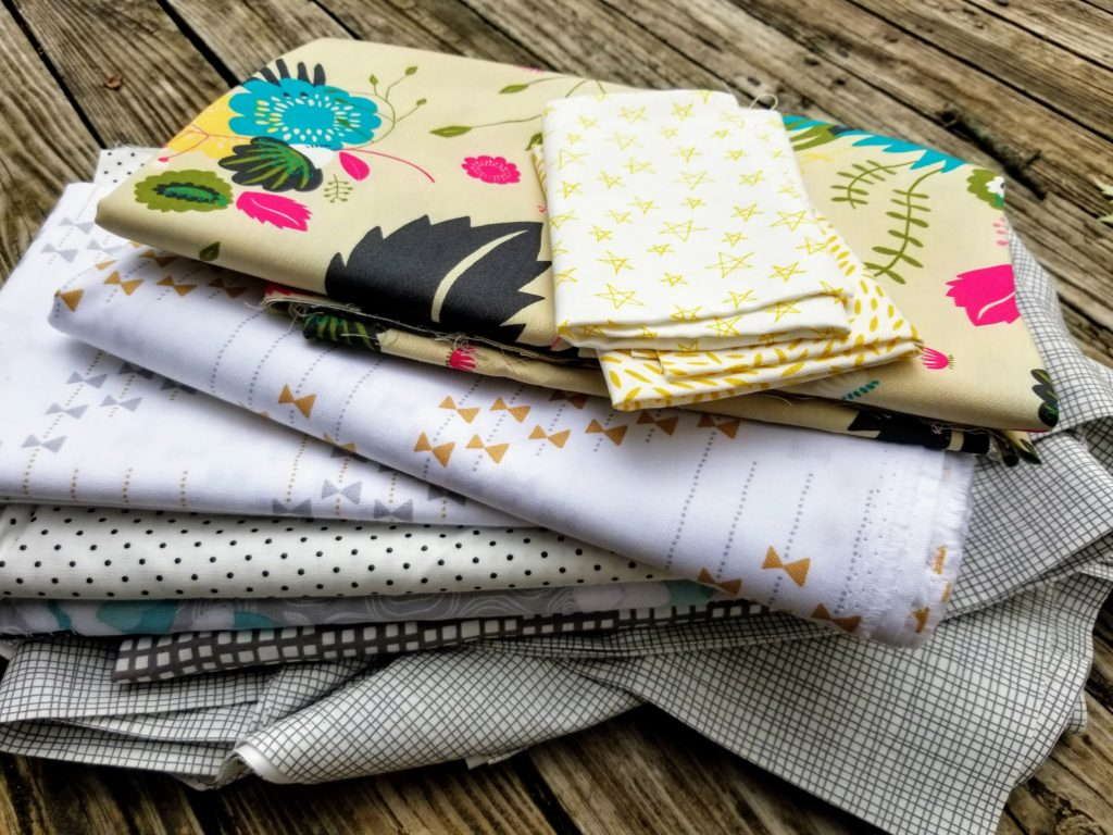 quiltytherapy, fabric stash, stashing