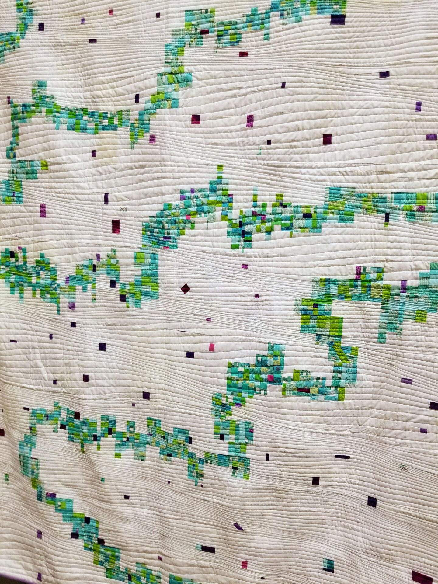 5 trends from quiltcon 2019, quiltytherapy, tiny piecing